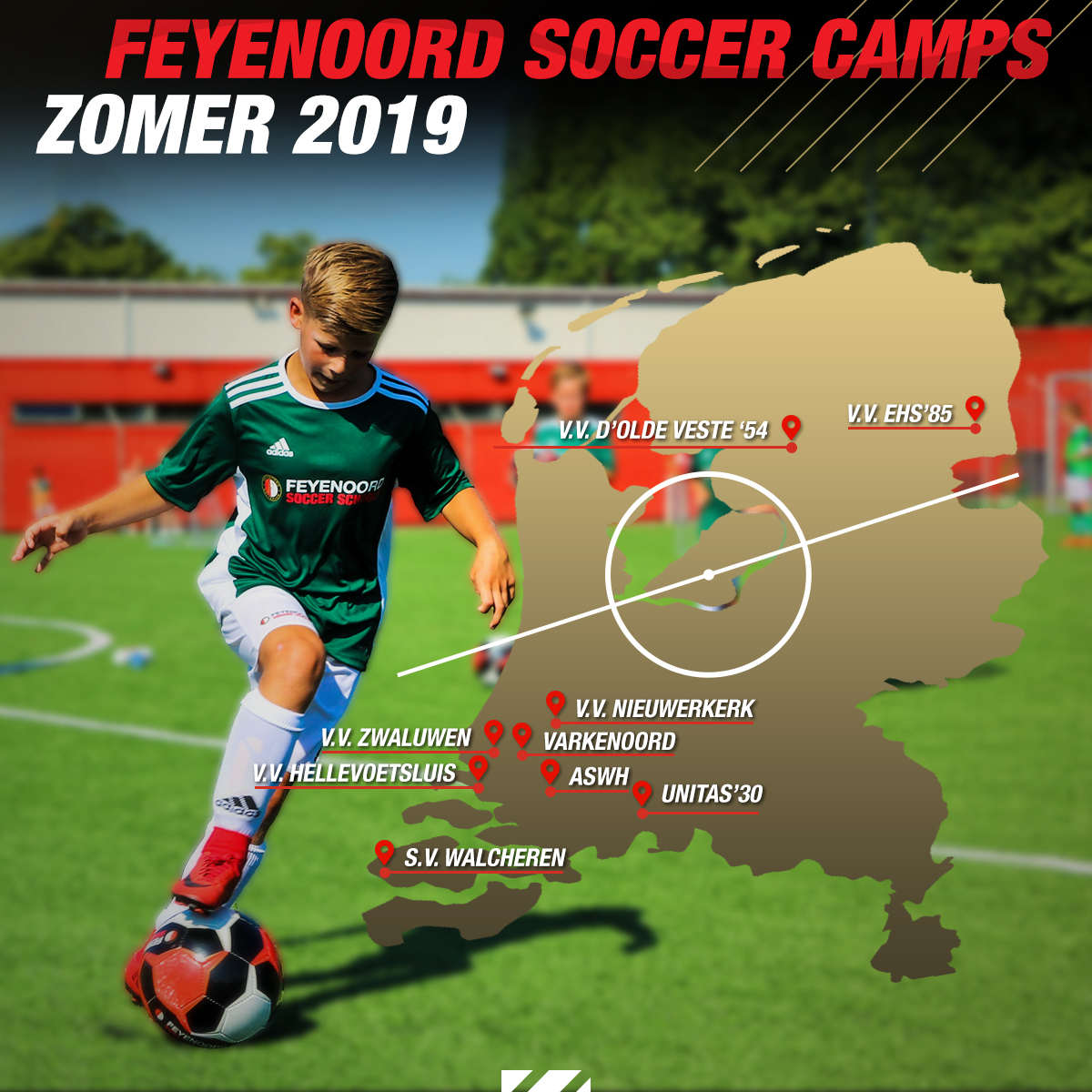 Feyenoord Soccer Camps Zomer 2019